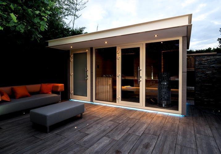 Buitensauna outdoor sauna
